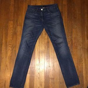 3X1 women's straight crop jeans size 28.